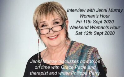 How To Be On Time – Grace Pacie Interview on BBC Radio 4: Woman's Hour and Weekend Woman's Hour